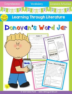 DONOVAN'S WORD JAR cover